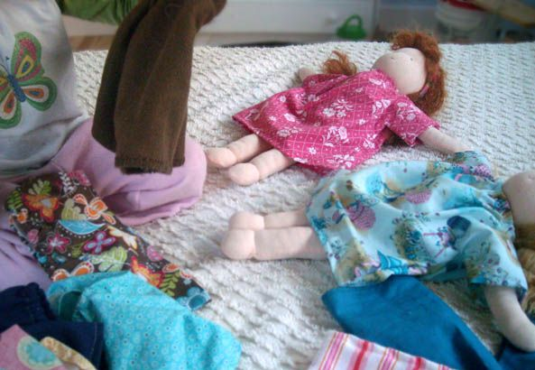 we wilsons: Dolls and their Clothes: Super Easy Patterns