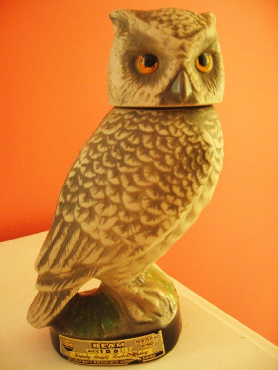 Owl whiskey decanter. What?!