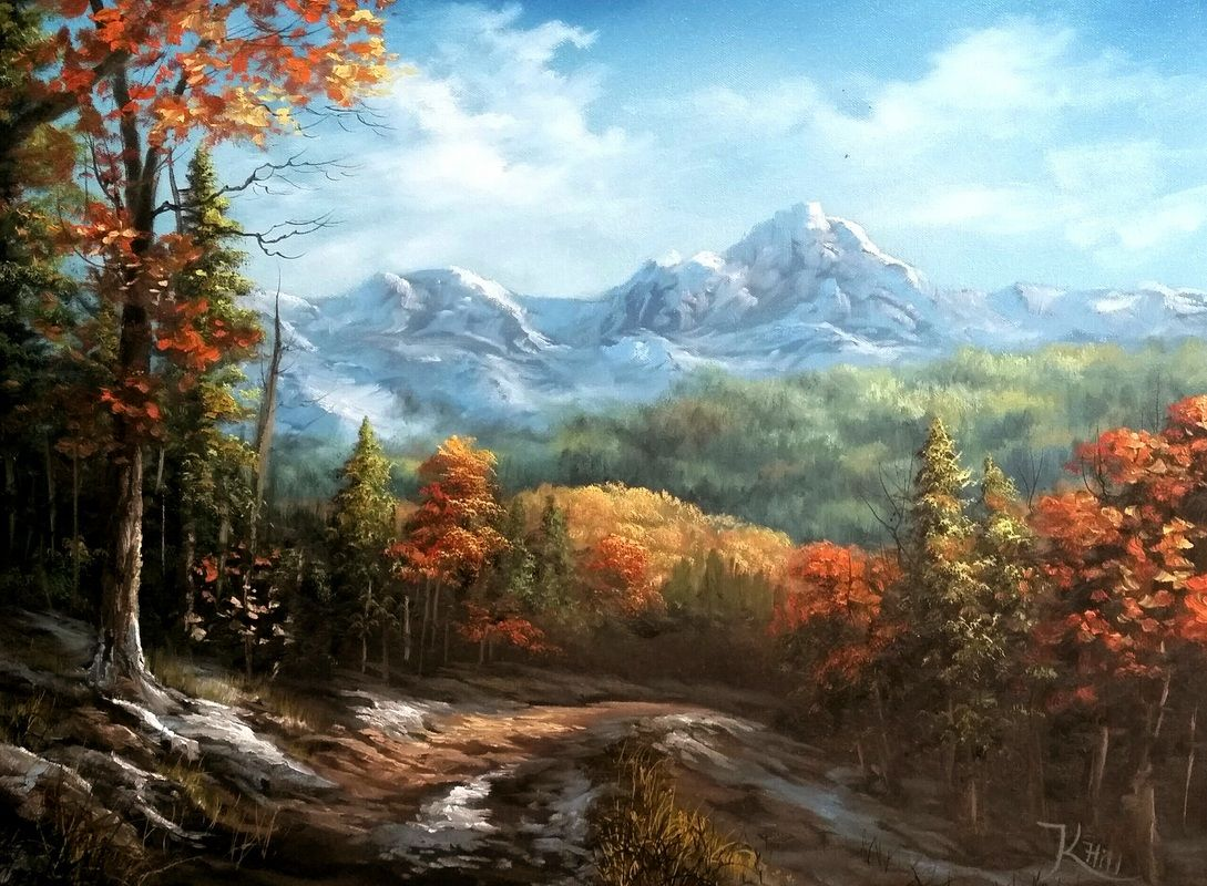 Paint With Kevin Oil Painting Landscape Landscape Paintings Kevin Hill Paintings