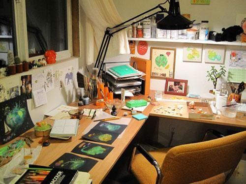 22 home art studio design and decorating ideas that create inspiring spaces - Art Studio Design Ideas