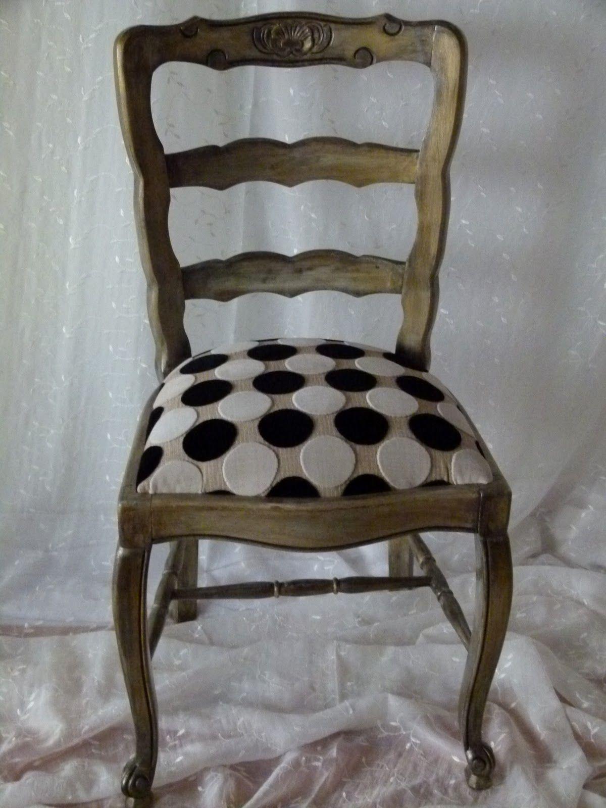 silla provenzal restaurada | καρέκλα | Sillas tapizadas, Sillas ...