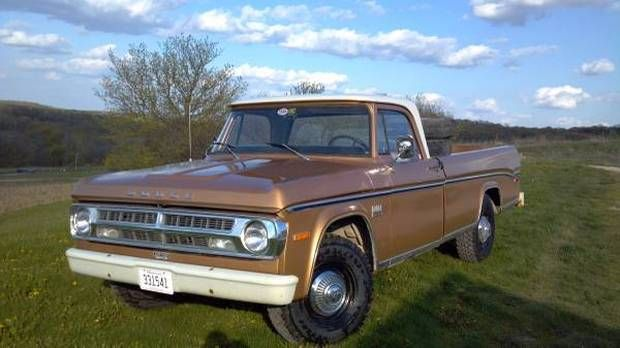26k Miles One Family 1971 Dodge D100 Pick Up Dodge Cars For