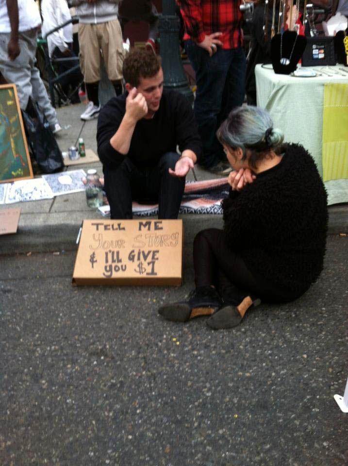 This is inspiring like a free hug! (via A Man Called Old Fashion) #wfaves