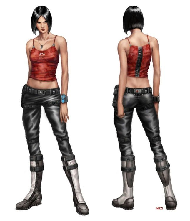 Natalia Casual Outfit Author Josh Nizzi Cyberpunk