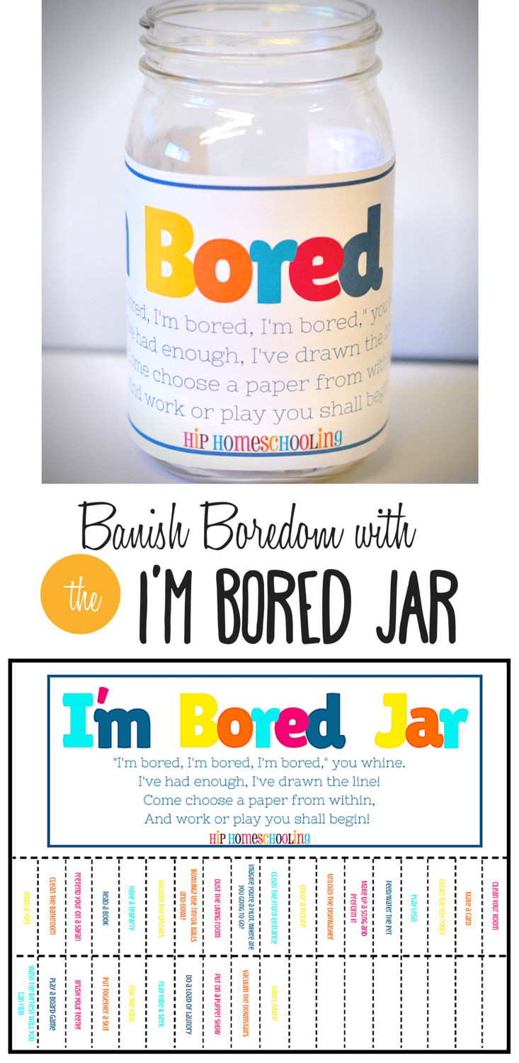 Are The Kids Bored Not Anymore With The I M Bored Jar Printable Bored Jar Business For Kids Chores For Kids