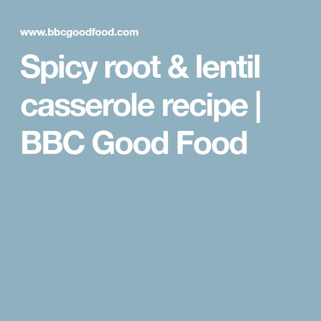 Spicy root lentil casserole recipe bbc good food slimming spicy root lentil casserole recipe bbc good food forumfinder Images