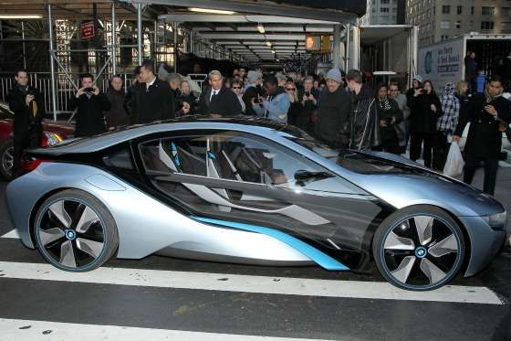 BMW i8 Concept Car 'Mission Impossible - Ghost Protocol' - Startraks Photo/REX