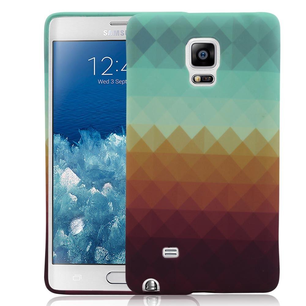 Samsung Note EDGE Pixel Waves TPU Case - nucecases.com