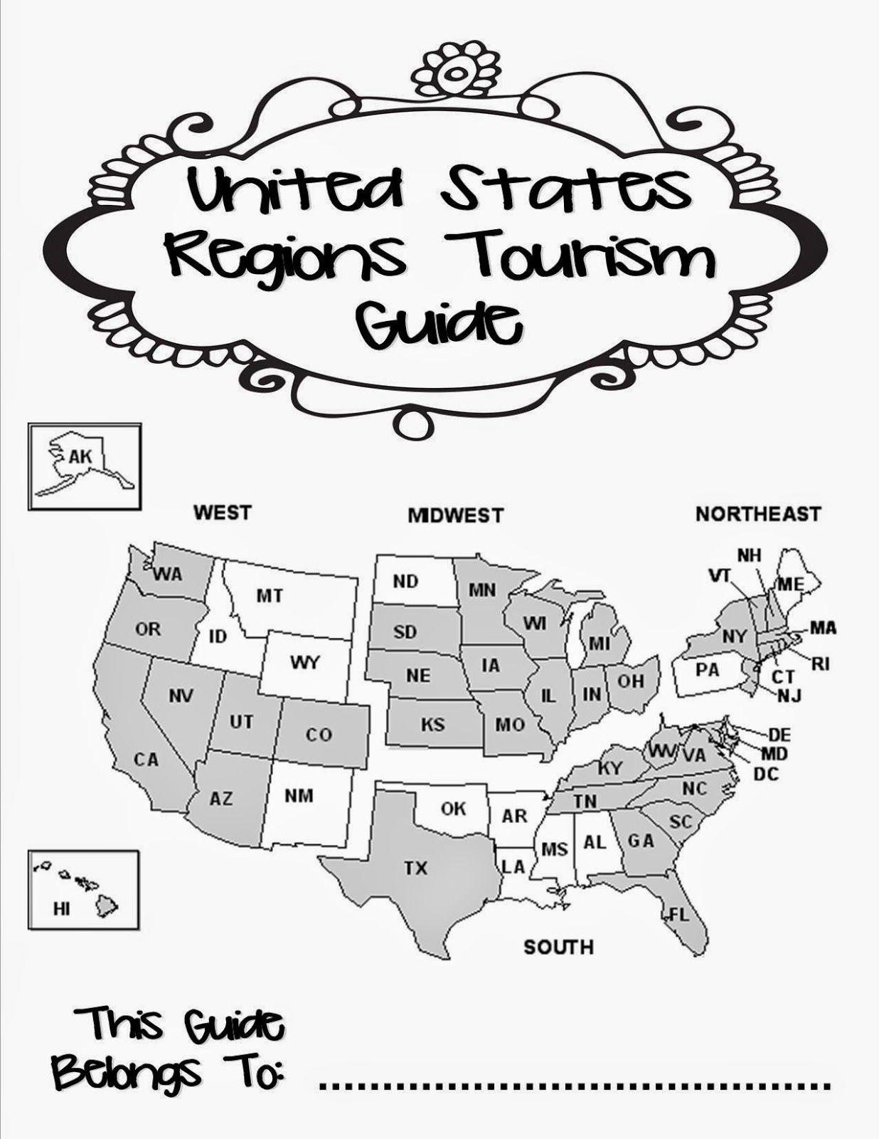 Teaching The Us Regions Social Studies Worksheets Preschool Social Studies Kindergarten Social Studies [ 1600 x 1236 Pixel ]