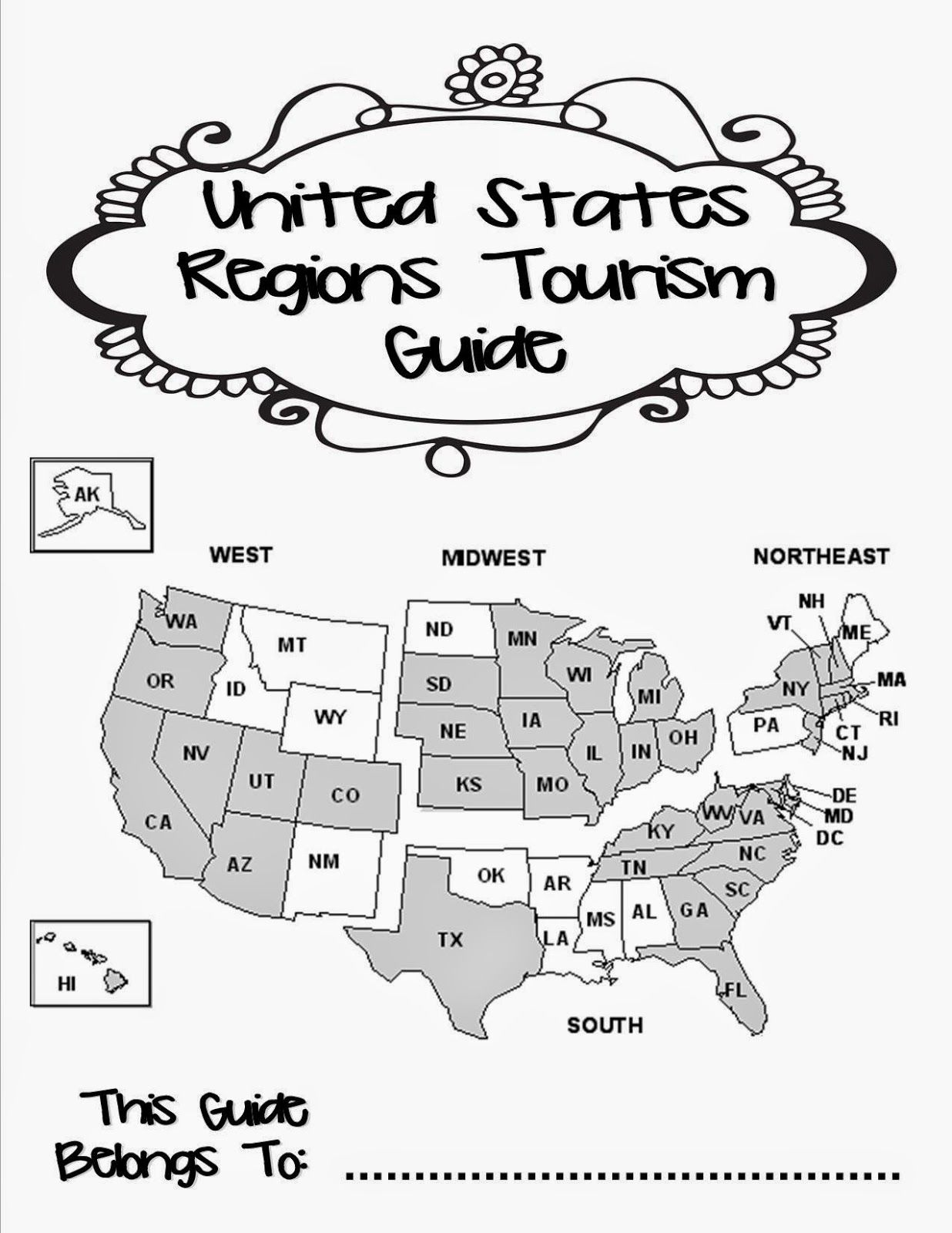 Teaching The Us Regions