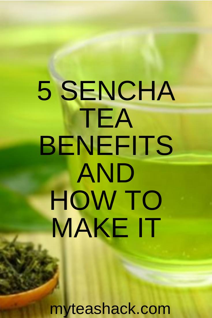 5 Sencha Tea Benefits And How To Make It Sencha Tea Tea
