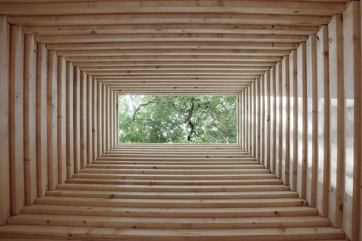 Re Creation Two Primitive Huts Show Similarities Between Traditional Chinese And Finnish Design