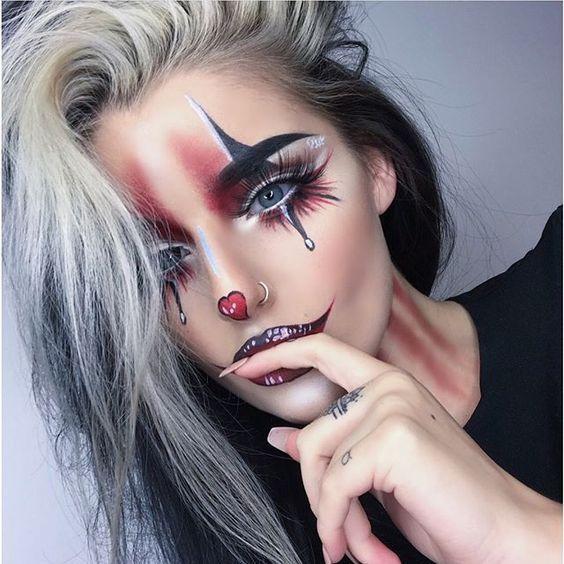 50 atemberaubende Halloween Makeup-Ideen – Style O Check