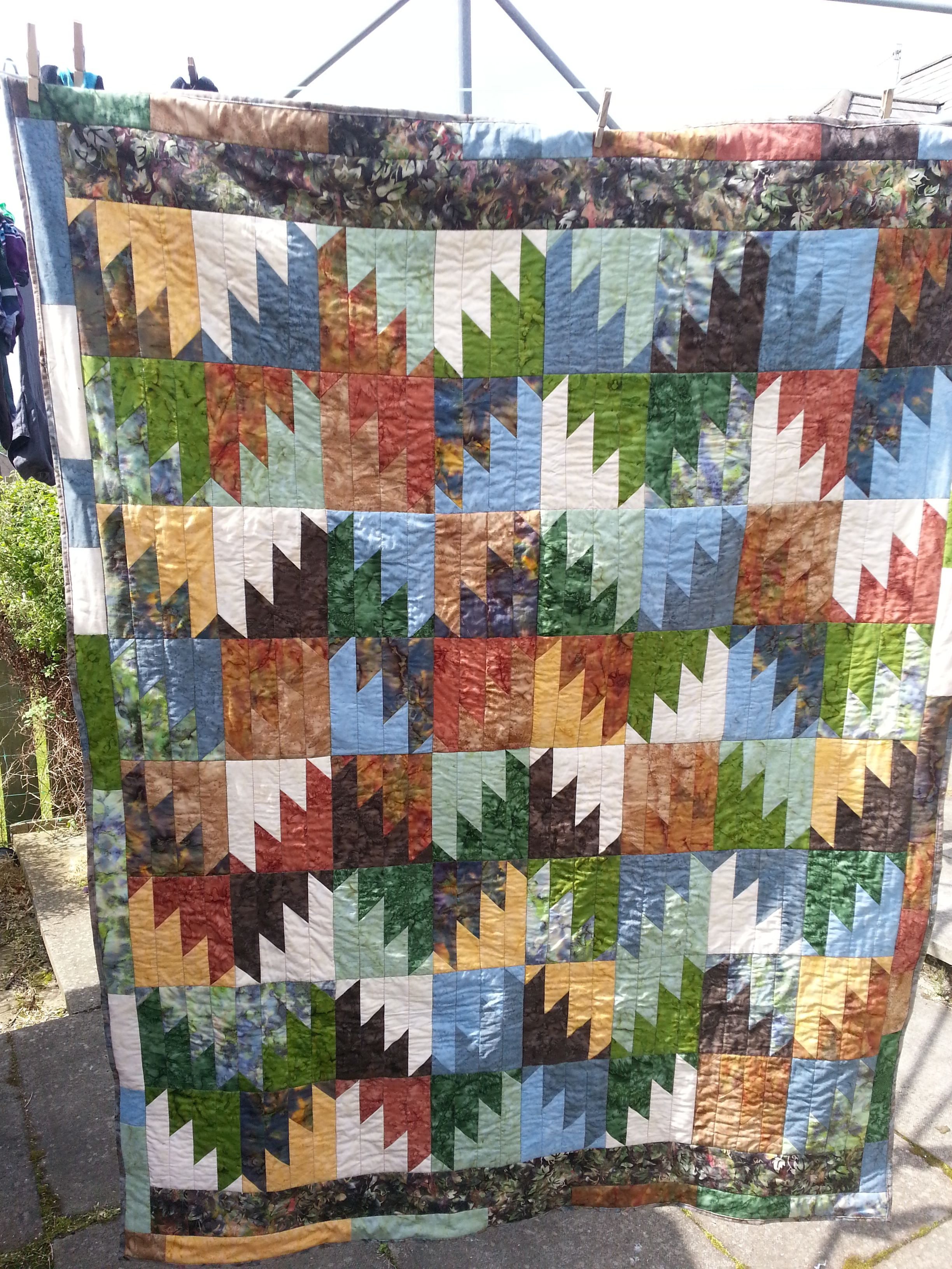 Delectable Mountains quilt- block pattern found at http ... : uk quilting blogs - Adamdwight.com