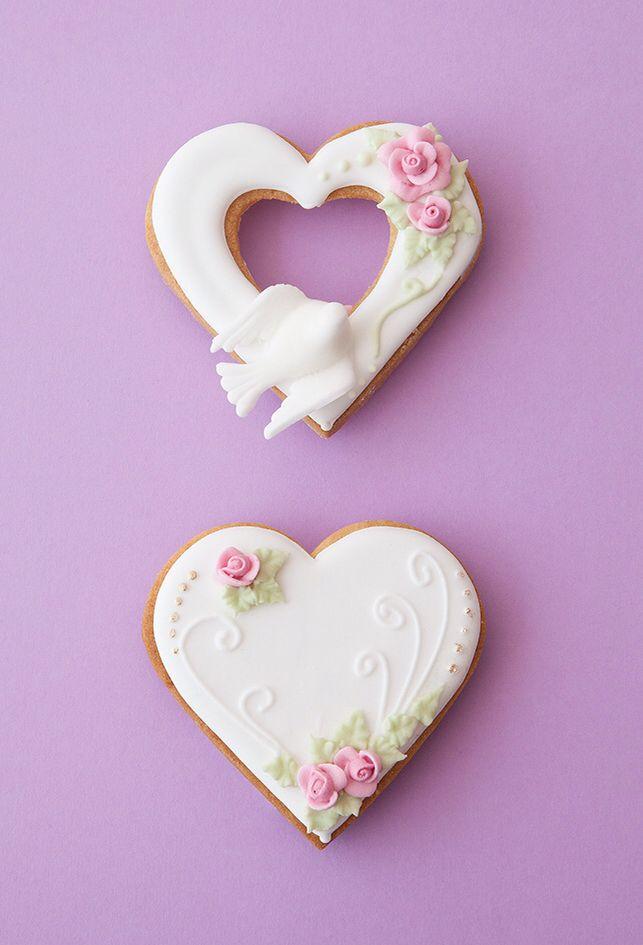 Galletas Decoradas Rosas De Glasé Real Cookies Royal Icing