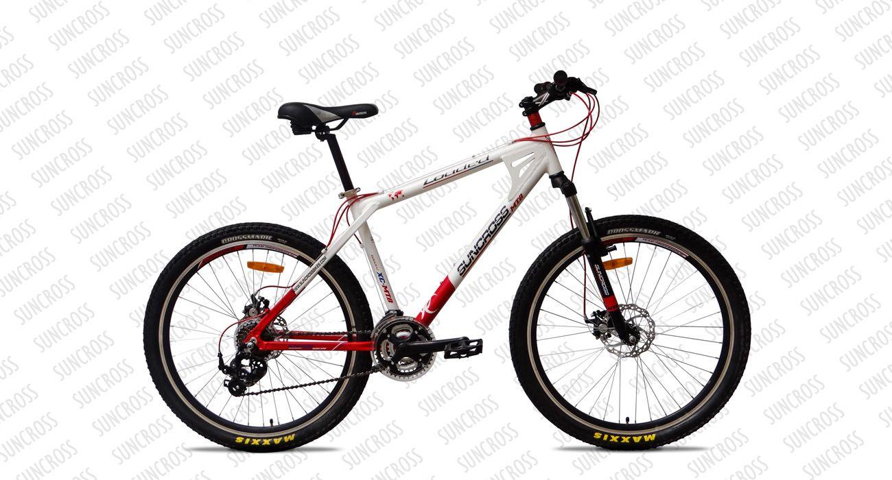 Suncross Loaded Bicycle Hybrid Bike Suspension Bike
