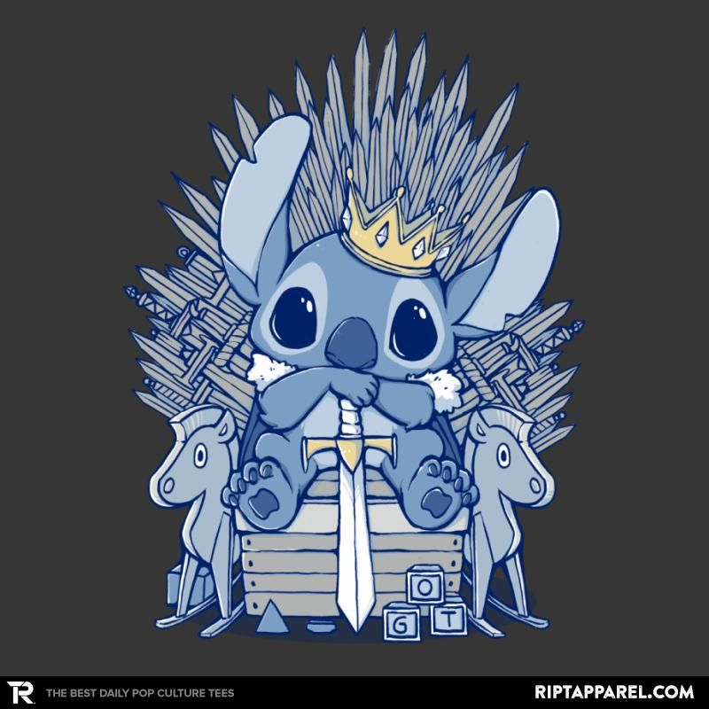 The Throne - Lilo and Stitch T-Shirt #liloandstitch