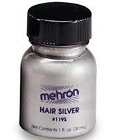 Hair White and Hair Silver are Professional Performance Hair Colors used by the Makeup Artists of the Entertainment Industry to achieve a natural aging look in performer's hair. Hair White color and H