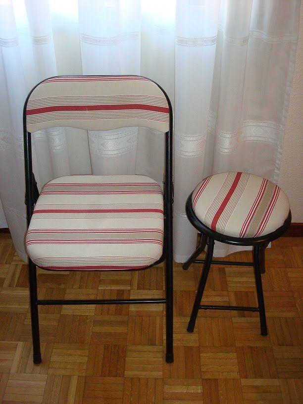 Tapizado de sillas tapizados pinterest tapizado de for Tapizar sillas de madera
