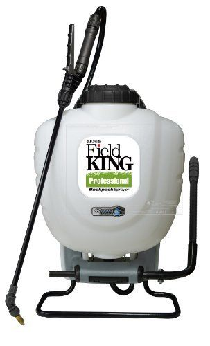 Field King 190328 Professional S2 Backpack Sprayer 4 Gallon By D B Smith 73 25 Four Nozzle System Poly Adju Sprayers Professional Backpack Cool Backpacks