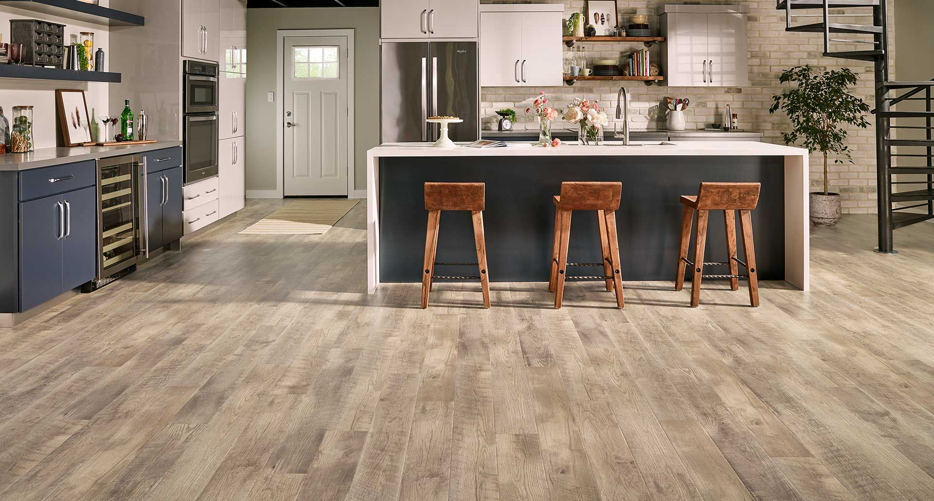 Southport Oak Natural Laminate Floor Beige Oak Wood