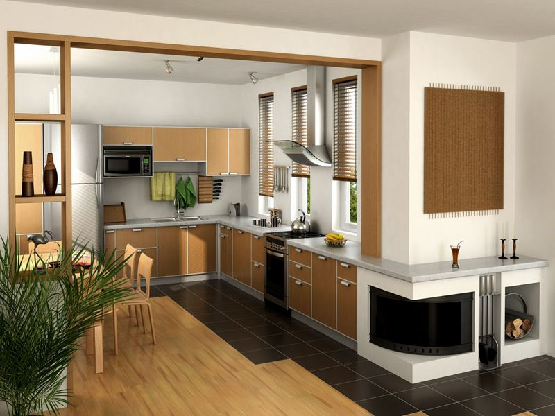 Kitchen Design 3D View  3D Kitchen Design  Pinterest  Kitchen Captivating Kitchen 3D Design Inspiration Design