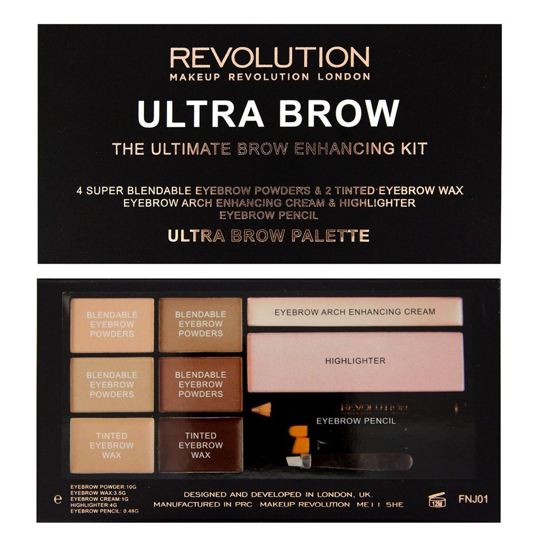 Ultra Brow Fair to Medium Ultra Brow Palette BROWS