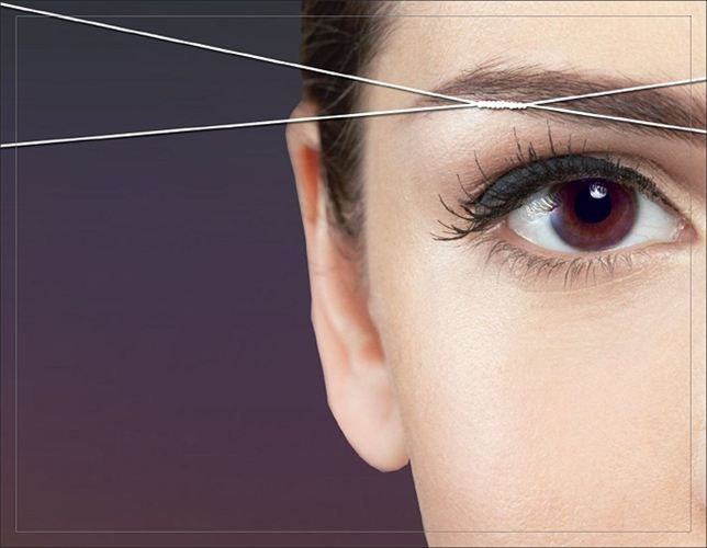 Never Thought Threading Eyebrows Is So Easy And Effortless Check