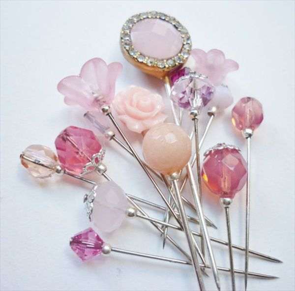 10 Crystal Button Beads for DIY Brooches Wrist Corsage Jewelry Accessory