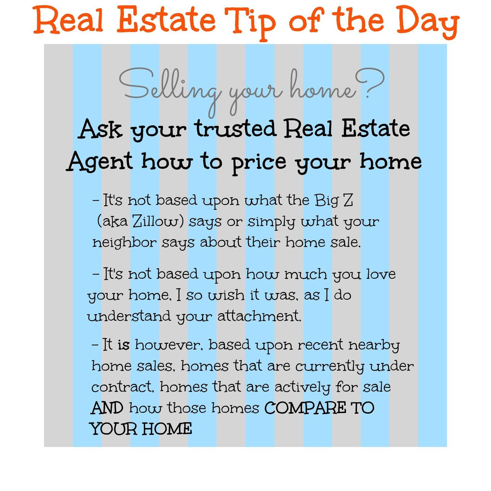 Home Selling Real Estate Tips