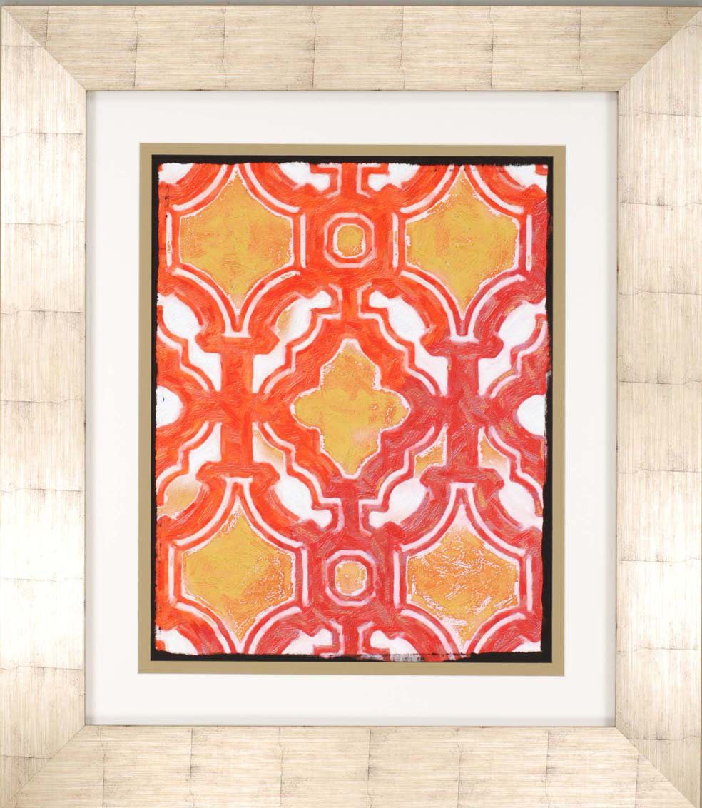 ... Dominican Pattern Framed Wall