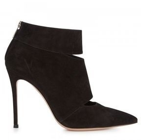 5e791dcda34f Gianvito Rossi Cut-out suede ankle boots - 3 in Black on shopstyle ...