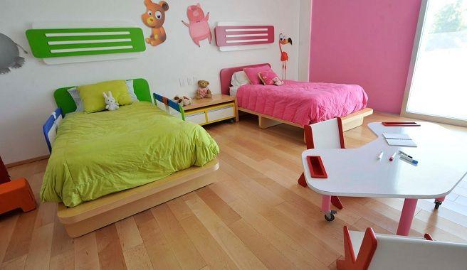 Ideas unisex para una habitación infantil compartida   cosas de casa ...