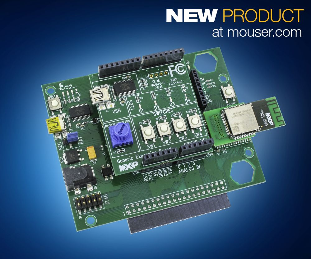 NXP JN5169 Expansion Kits for Internet of Things (IoT) and smart home applications.