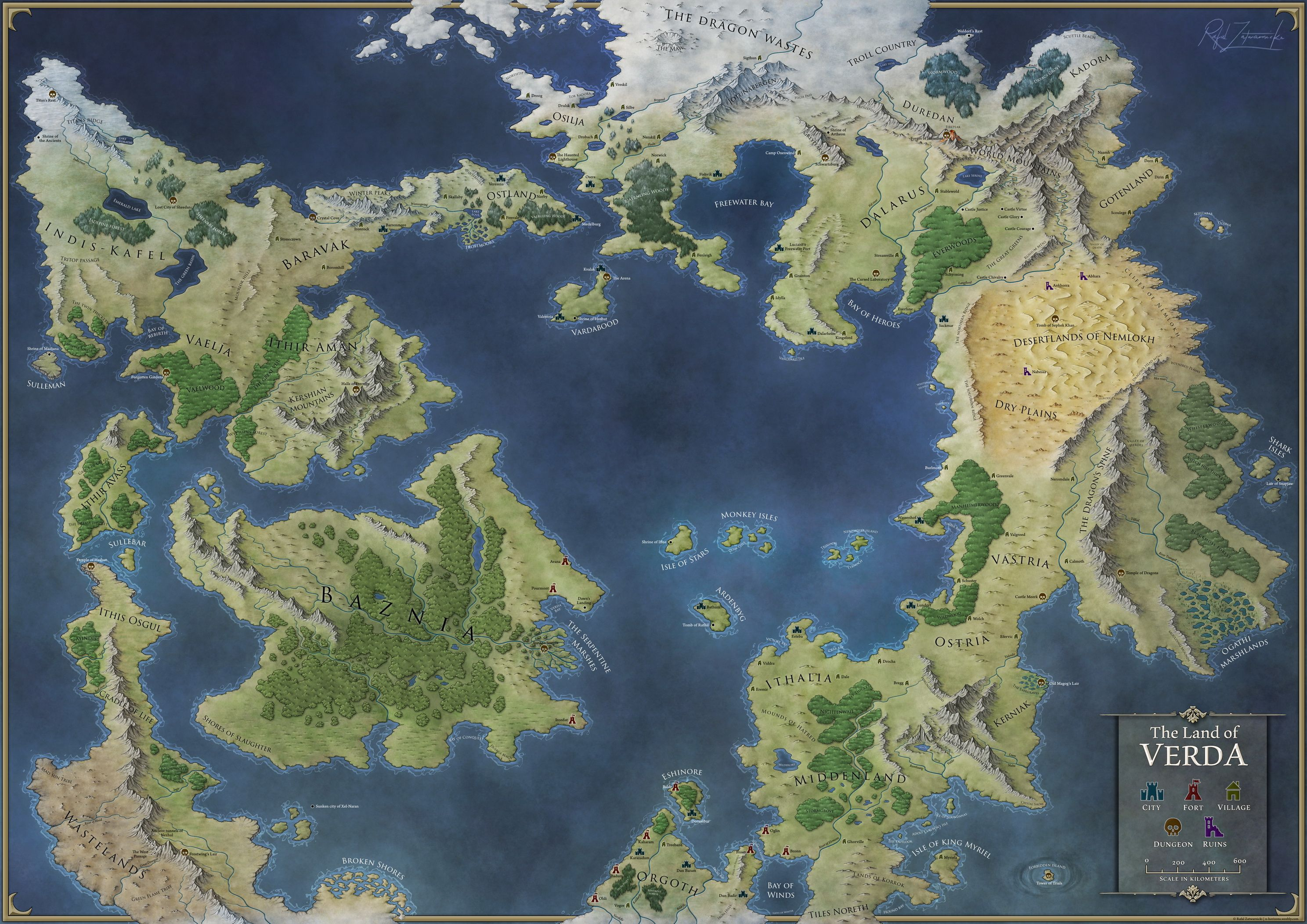 attachment.php (2976×2105)   Maps   Fantasy world map, Dnd world map ...