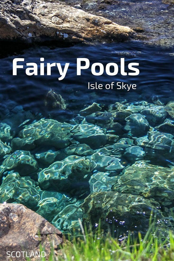 Fairy Pools on the Isle of Skye (Scotland)