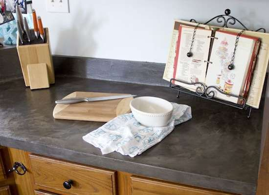 Superbe Faux Concrete Countertops Faux Concrete A Refinishing Kit Brings Faux Concrete  Countertops Easily Within Reach.