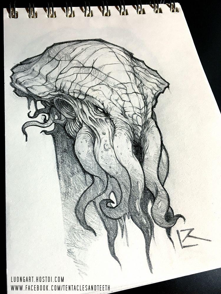 37++ Cthulhu drawing info