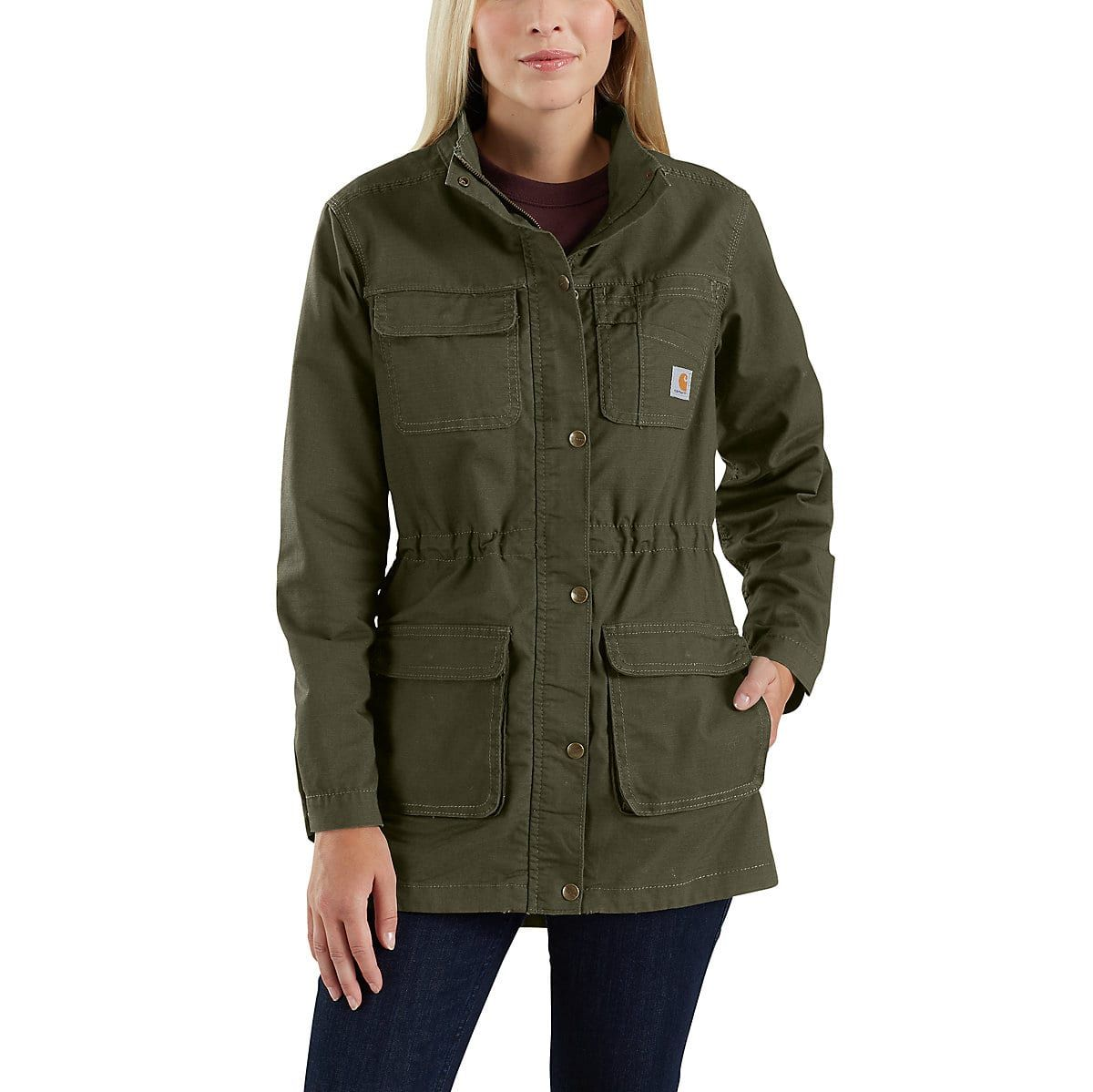 Shop The Smithville Jacket For Women S At Carhartt Com For Women S Outerwear That Works As Hard As You Do Carhartt Jacket Jackets Carhartt Women [ 1199 x 1200 Pixel ]