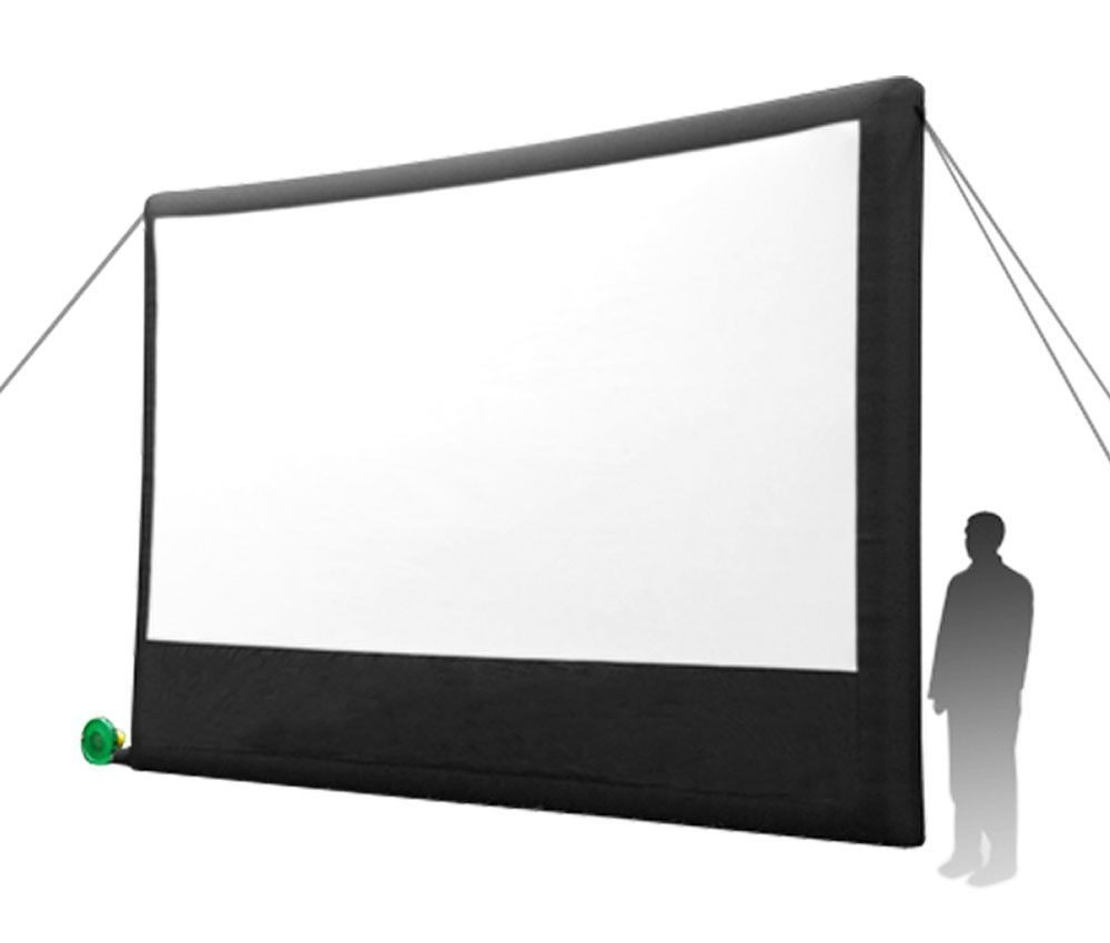 Open Air Cinema Inflatable Home Projection Screen - 16\' Open Air ...