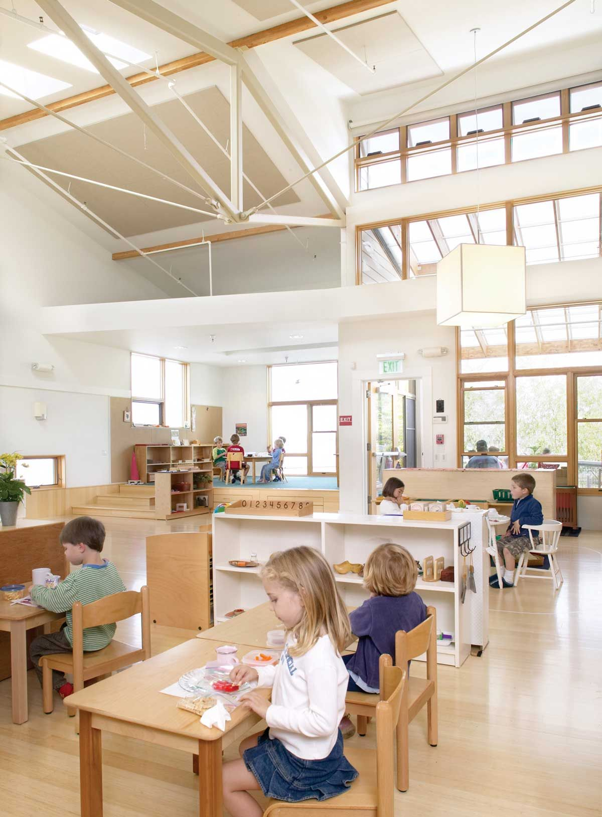 grove christian architecture schools systems sheldon projects school hickory interior laboratory