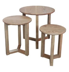 Light Colored Side Tables