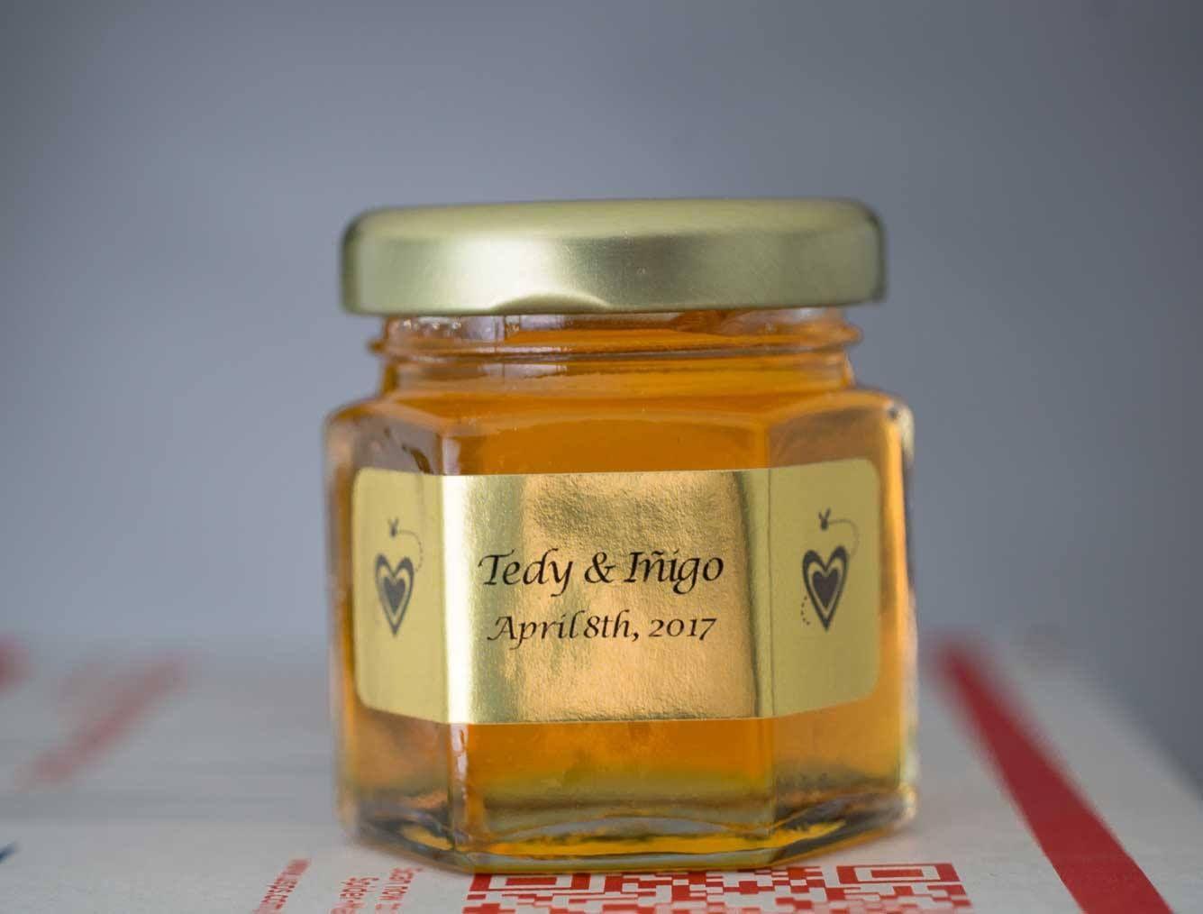 Homemade Diy Honey Jar Wedding Favor Ideas That Are Inspired