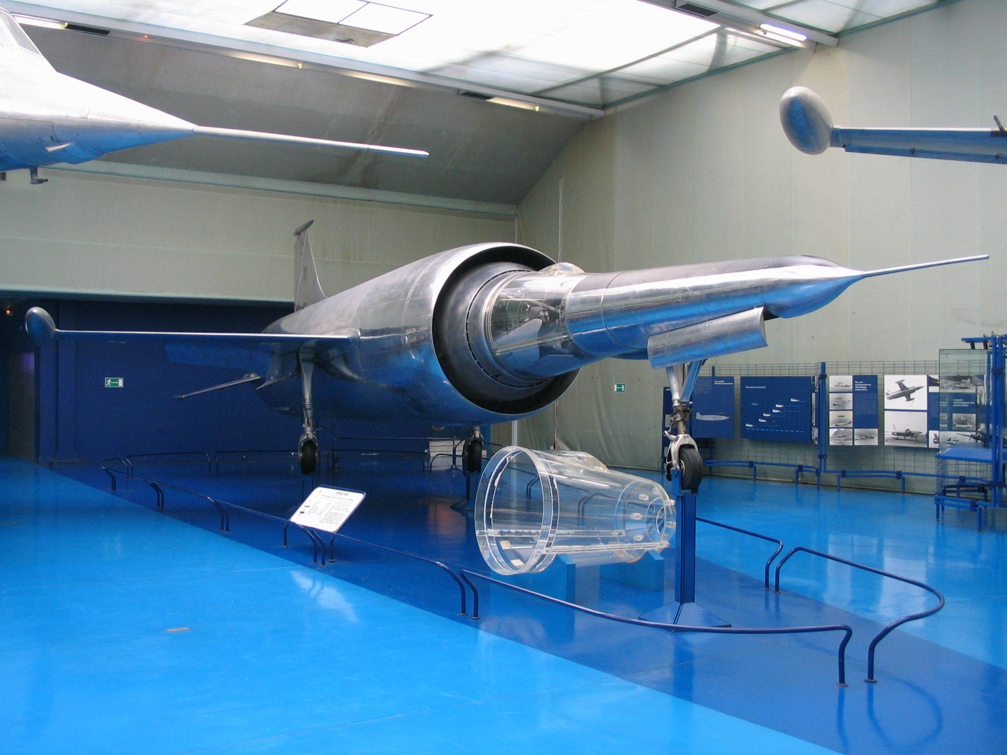 The Leduc 0.22 was the prototype of a Mach 2 fighter built in France in 1956