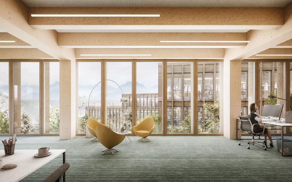 Ergebnis Neubauten Fur Die Lgt Bank In Vaduz Li Competitionline In 2020 Architecture Visualization Vaduz Apartment Therapy