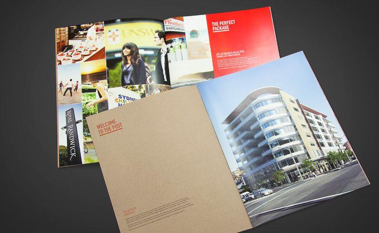 apartment development brochure design maroubra