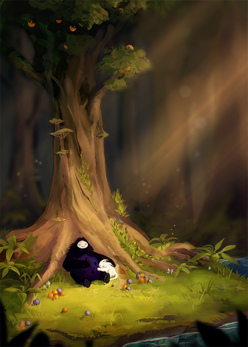 Ori and the Blind Forest fan art by Tumblr user venrin
