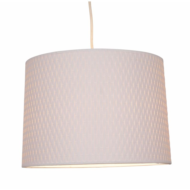 Cara Woven Paper Lamp Shade White New House Paper Lampshade