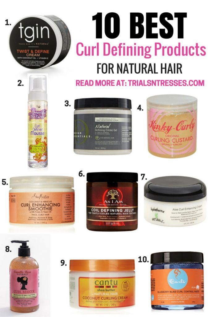 10 Best Curl Defining Products For Natural Hair With Images