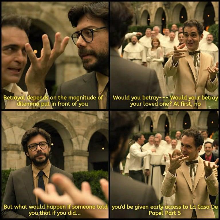 10 La Casa De Papel Money Heist Memes In English Quotes Notes And Sayings Las Casas De Papel Casa De Papel Sobres De Papel